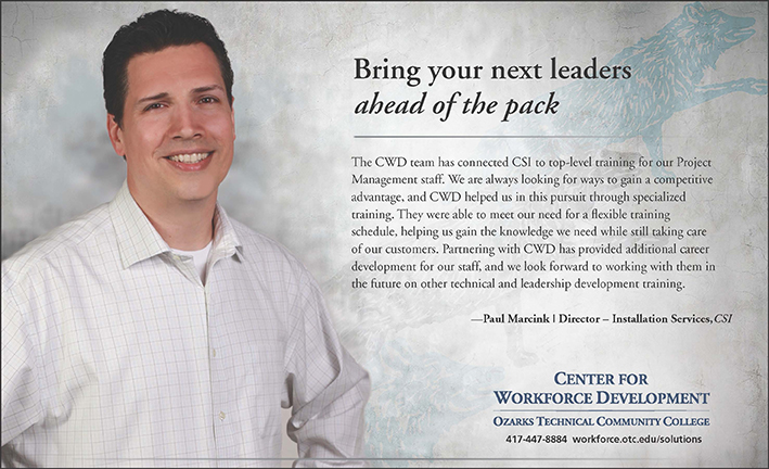 center for workforce development testimonials csi equipment