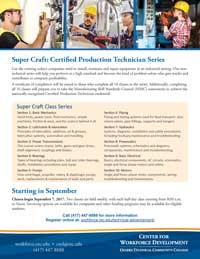 Super Craft Course Flyer