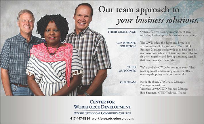 center for workforce development testimonials pennington seed