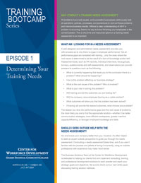 PDF White paper - Episode 1 Determining your Training Needs