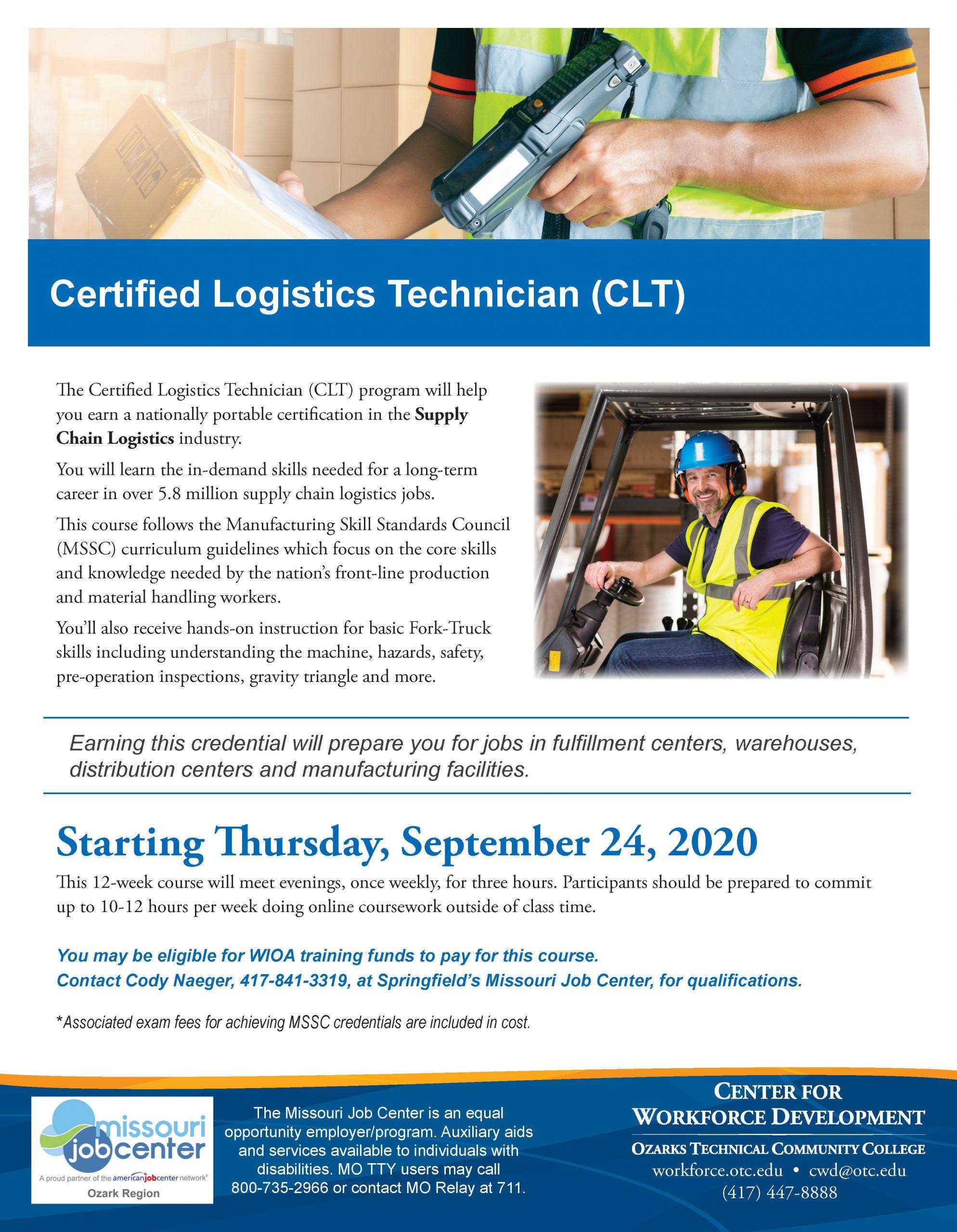 CLT flyer PDF Thumbnail