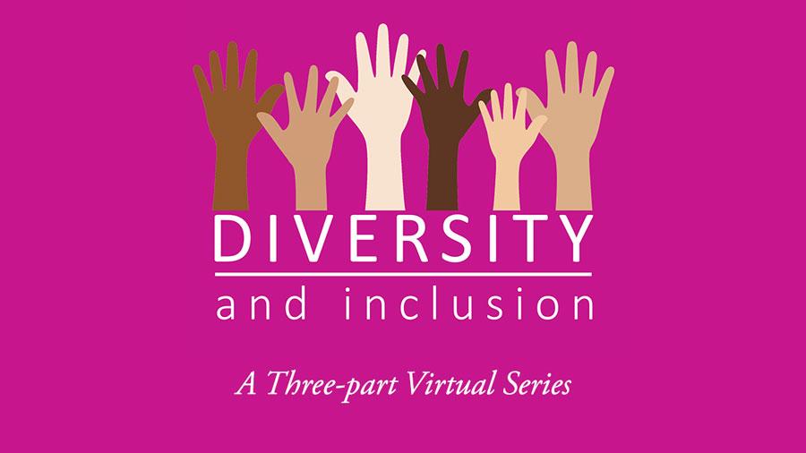 Diversity Series, Diverse Hands graphic